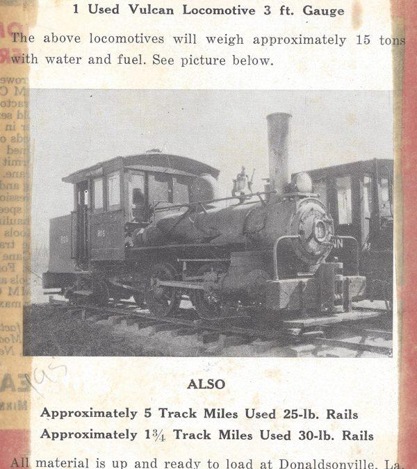 1942 – Train Ad